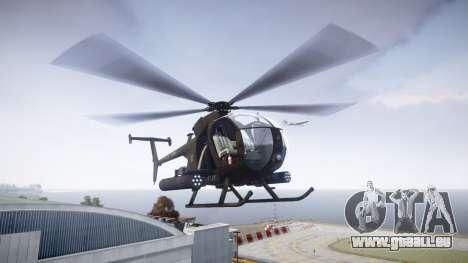 AH-6 Little Bird für GTA 4