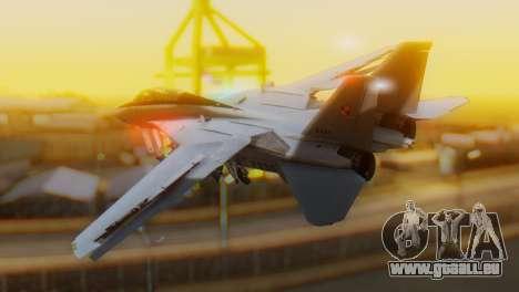 F-14A Tomcat Marynarka Wojenna RP pour GTA San Andreas laissé vue
