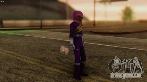 Power Rangers Skin 7 für GTA San Andreas dritten Screenshot