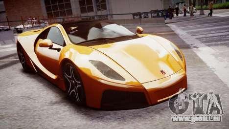 GTA Spano 2013 pour GTA 4 est un droit