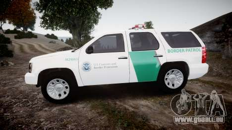 Chevrolet Tahoe Border Patrol [ELS] für GTA 4 linke Ansicht