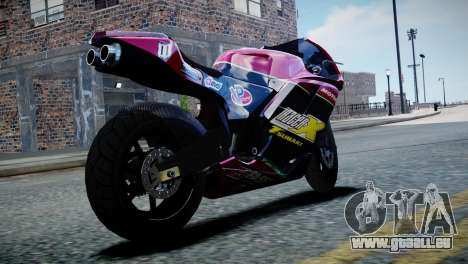 Bike Bati 2 HD Skin 3 pour GTA 4 est une gauche