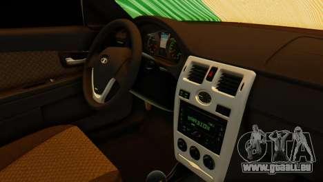 VAZ 2170 Italia für GTA San Andreas rechten Ansicht