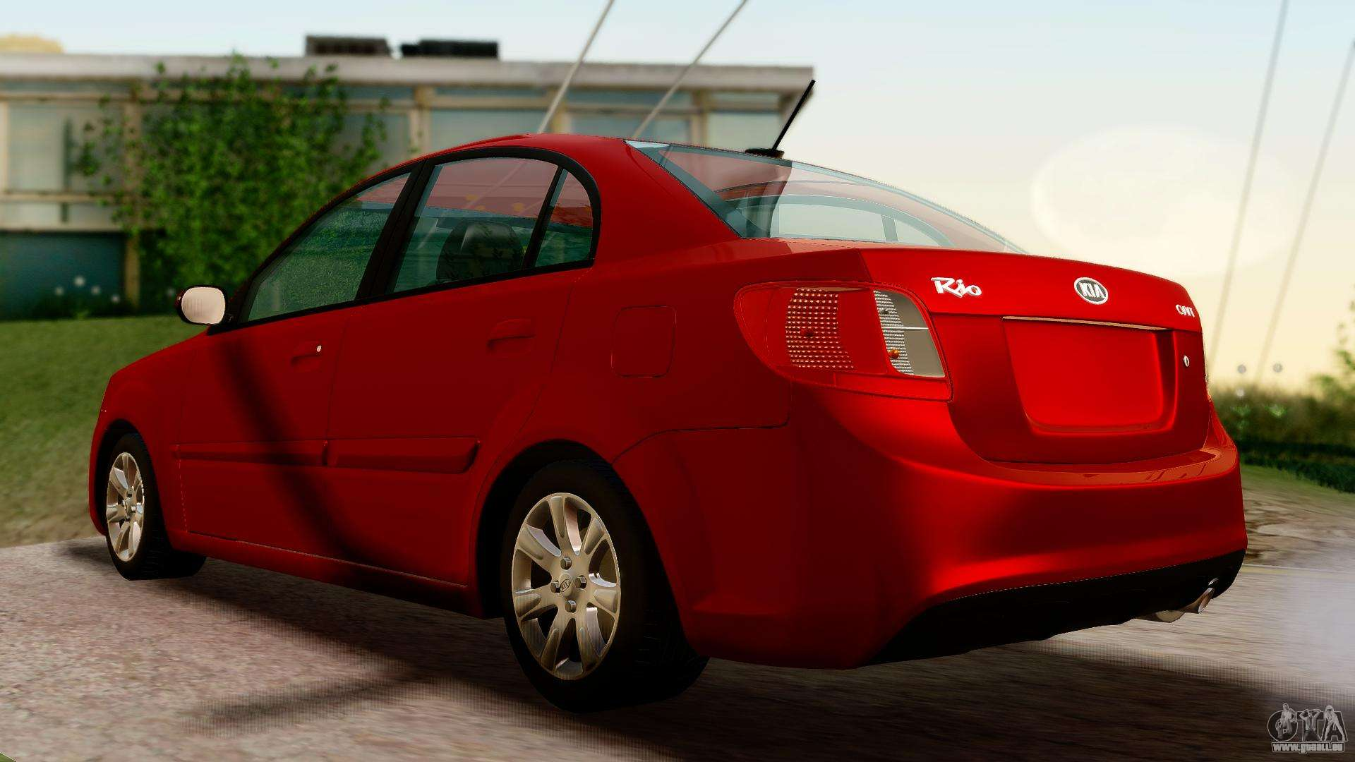kia rio pour gta san andreas. Black Bedroom Furniture Sets. Home Design Ideas