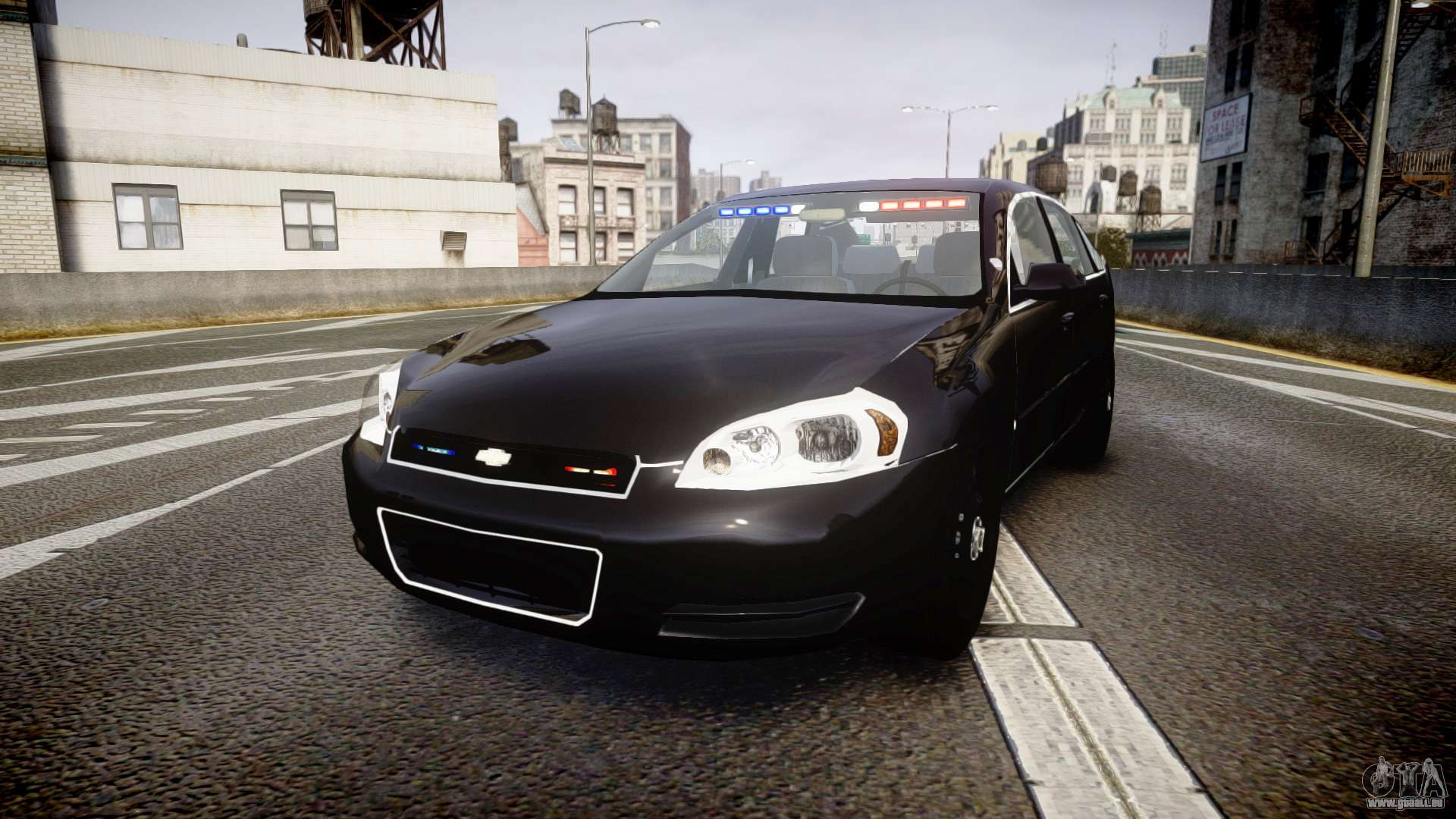 Chevrolet Impala Unmarked Police Els Ntw Pour Gta 4
