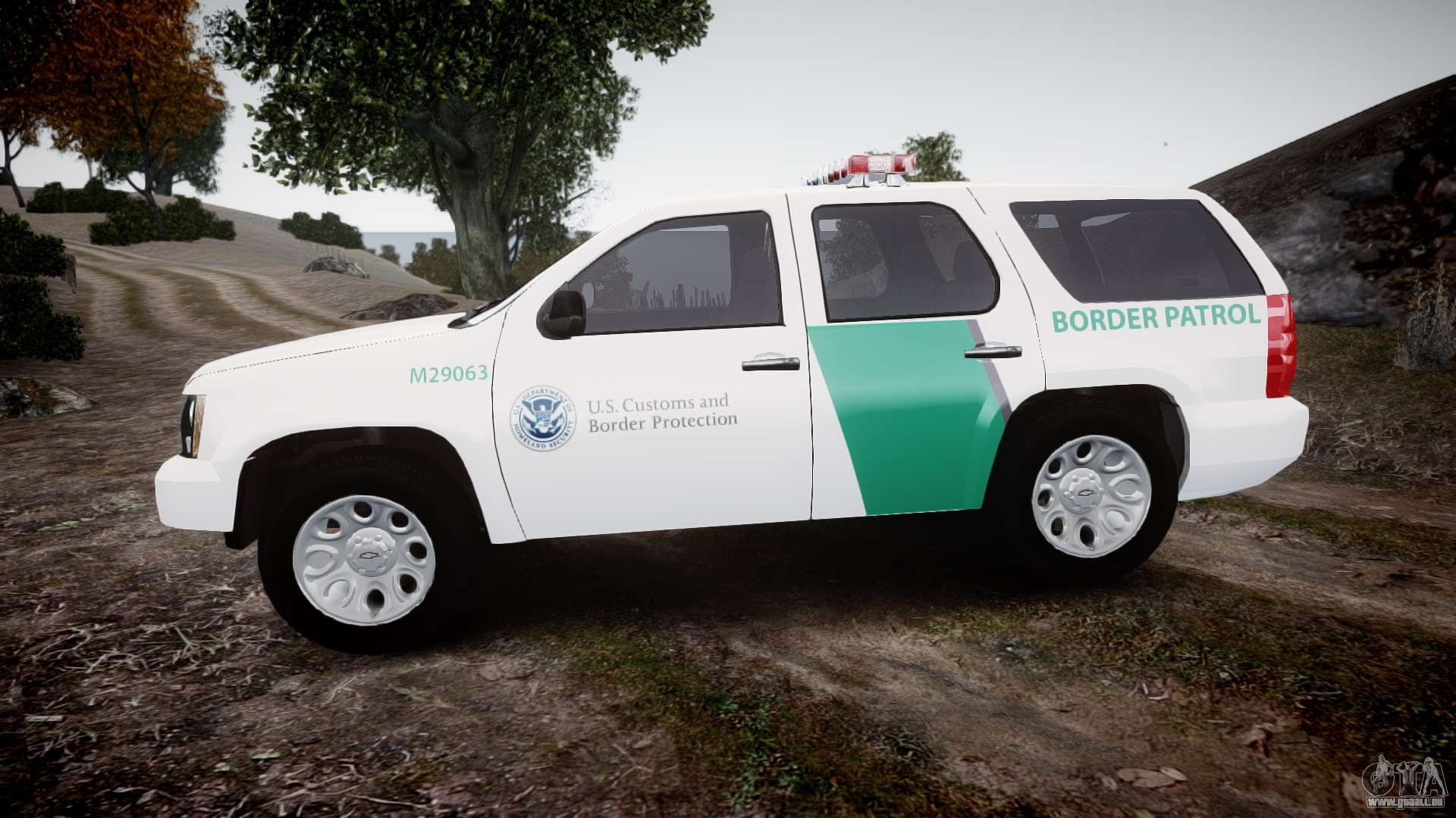 Chevrolet Tahoe Border Patrol Els Pour Gta 4