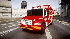 Freightliner M2 2014 Ambulance [ELS] pour GTA 4