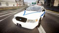 Ford Crown Victoria Indiana State Police [ELS] für GTA 4