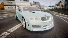 Bentley Continental GT Platinum Motorsports pour GTA 4