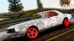 Chevrolet Camaro SS Camo Drift für GTA San Andreas