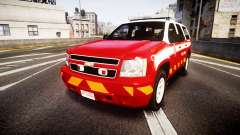 Chevrolet Tahoe 2013 Battalion Chief Unit [ELS] pour GTA 4