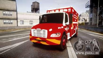 Freightliner M2 2014 Ambulance [ELS] für GTA 4