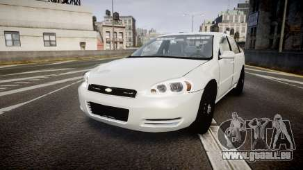 Chevrolet Impala Unmarked Police [ELS] tw pour GTA 4