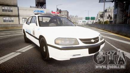 Chevrolet Impala Metropolitan Police [ELS] Traf für GTA 4