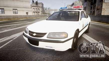 Chevrolet Impala Metropolitan Police [ELS] Pat pour GTA 4