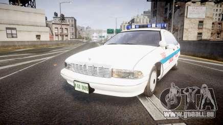 Chevrolet Caprice Chicago Police [ELS] pour GTA 4