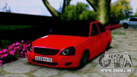 Lada 2170 Priora Le Spartak Moscou pour GTA San Andreas