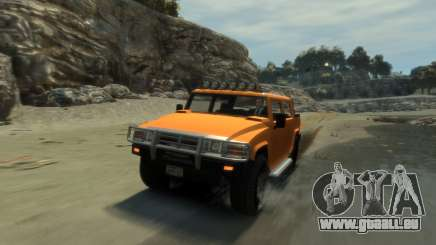 Mammoth Patriot Pickup pour GTA 4