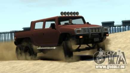 Mammoth Patriot 6x6 für GTA 4