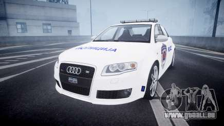 Audi RS4 Serbian Police [ELS] pour GTA 4