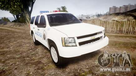 Chevrolet Tahoe Metropolitan Police [ELS] pour GTA 4