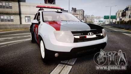 Lada Duster 2015 PMESP [ELS] für GTA 4