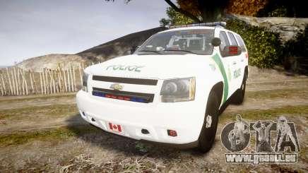 Chevrolet Tahoe Niagara Falls Parks Police [ELS] pour GTA 4