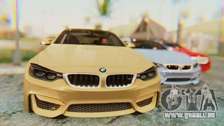 BMW M4 2015 IVF pour GTA San Andreas