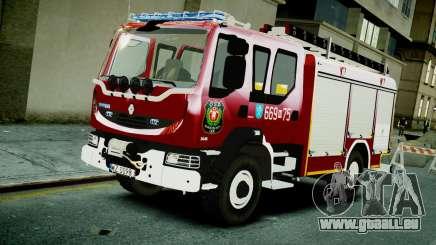 Renault Midlum 300.14 dXi Firetruck pour GTA 4