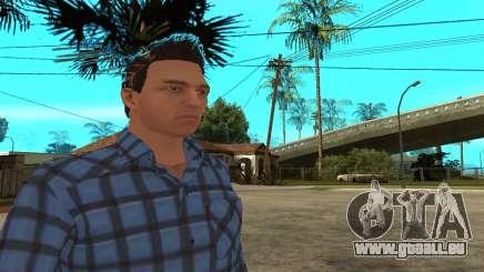 Skin Claude [HD] pour GTA San Andreas