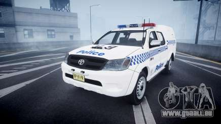 Toyota Hilux NSWPF [ELS] scoop pour GTA 4