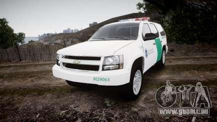 Chevrolet Tahoe Border Patrol [ELS] pour GTA 4