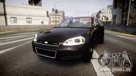 Chevrolet Impala Unmarked Police [ELS] ntw pour GTA 4