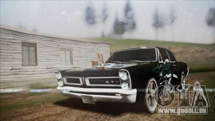 Pontiac GTO Black Rock Shooter pour GTA San Andreas