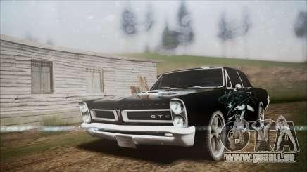 Pontiac GTO Black Rock Shooter pour GTA San Andreas