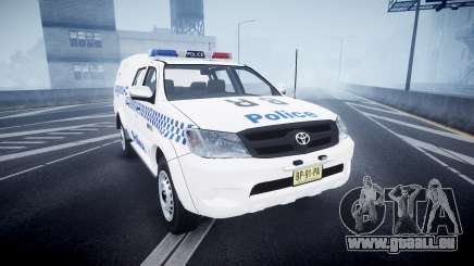 Toyota Hilux NSWPF [ELS] pour GTA 4