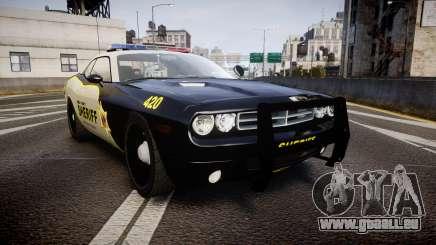 Dodge Challenger MCSO [ELS] pour GTA 4