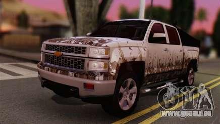 Chevrolet Silverado Enlodada pour GTA San Andreas