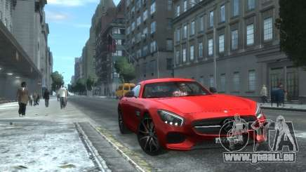 Mercedes-Benz SLS AMG GT 2015 pour GTA 4