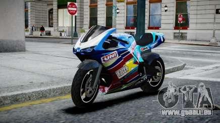 Bike Bati 2 HD Skin 2 pour GTA 4