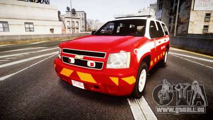 Chevrolet Tahoe 2013 Battalion Chief Unit [ELS] pour GTA 4
