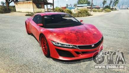Dinka Jester (Racecar) Blood pour GTA 5