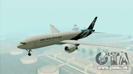 B777-200ER Air New Zealand Black Tail Livery pour GTA San Andreas