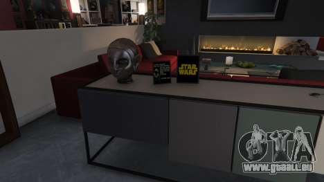 GTA 5 Star Wars Posters for Franklins House 0.5 neunter Screenshot