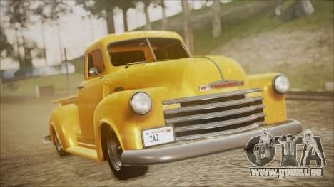 Chevrolet 3100 Truck 1951 für GTA San Andreas