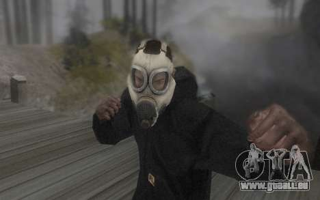 Le masque est de DayZ Standalone pour GTA San Andreas