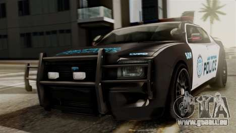 Hunter Citizen from Burnout Paradise Police LV für GTA San Andreas