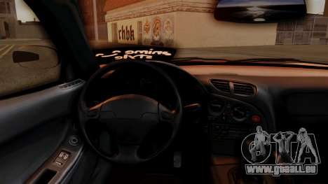 Mazda RX-7 Veilside Mugi Itasha pour GTA San Andreas vue de droite