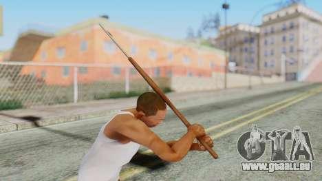 Hook from Silent Hill Downpour pour GTA San Andreas troisième écran