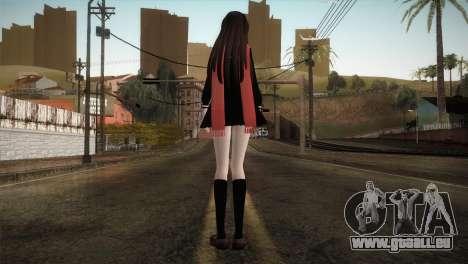 Tateyama Ayano (Kagerou Project) pour GTA San Andreas troisième écran